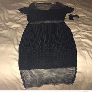 Guess SL LYSSA BLACK PENCIL DRESS